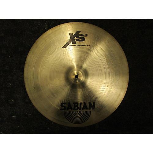Sabian 20in XS20 Medium Thin Crash Cymbal