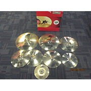 Sabian 20in XS20 SUPER CYMBAL SET 10/14HH/14C/16C/18C Cymbal