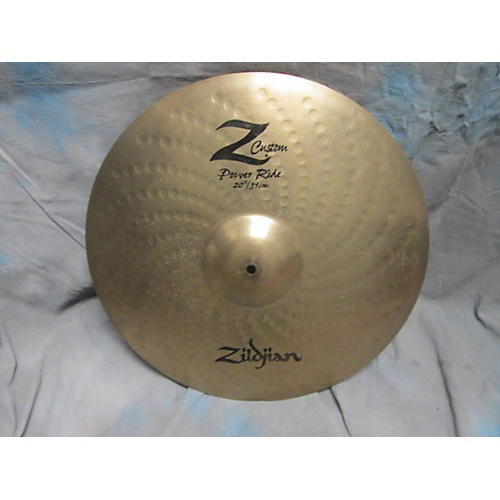 Zildjian 20in Z CUSTOM POWER RIDE Cymbal-thumbnail