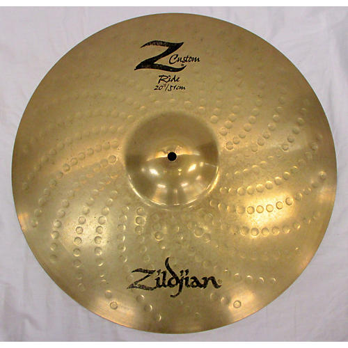 Zildjian 20in Z CUSTOM RIDE Cymbal