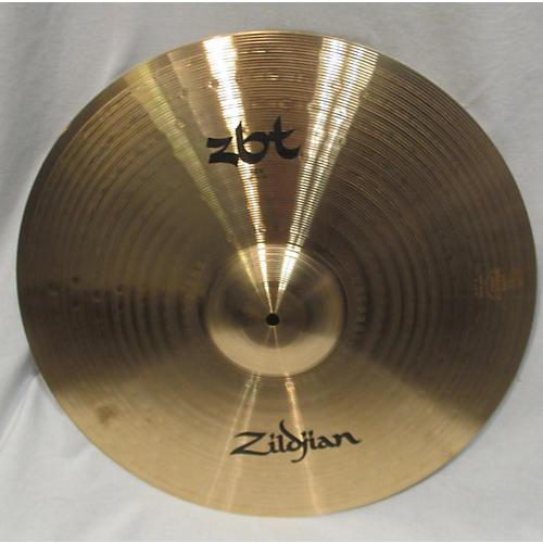 used zildjian 20in zbt ride cymbal 40 guitar center. Black Bedroom Furniture Sets. Home Design Ideas