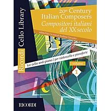 Ricordi 20th Century Italian Composers, Vol. 1 (Cello and Piano) String Series Softcover