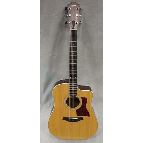 Taylor 210CE Acoustic Electric Guitar Natural