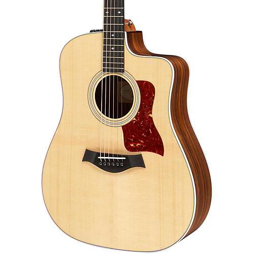 Taylor 210ce-DLX Dreadnought Acoustic-Electric Guitar Natural