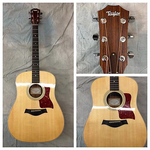 Taylor 210e DLX Acoustic Electric Guitar