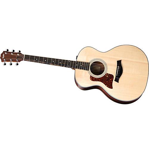 Taylor 214-E-G-L Grand Auditorium Left-Handed Acoustic-Electric Guitar-thumbnail
