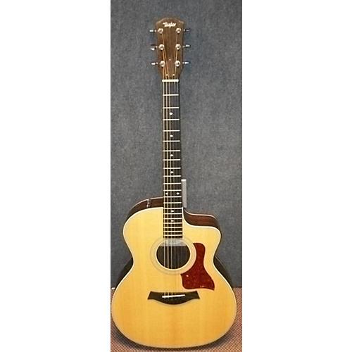Taylor 214CE DLX Acoustic Electric Guitar Natural