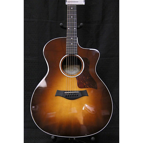 used taylor 214ce dlx acoustic electric guitar guitar center. Black Bedroom Furniture Sets. Home Design Ideas