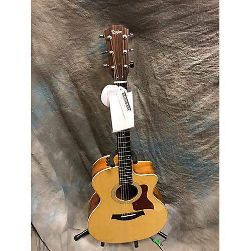 Taylor 214CE Koa Acoustic Electric Guitar Natural