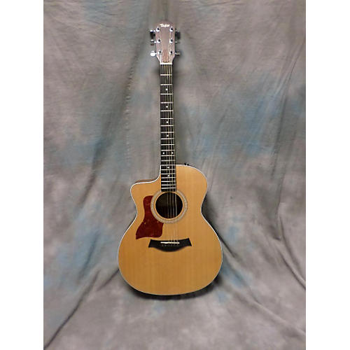 Taylor 214CE Left Handed Acoustic Electric Guitar