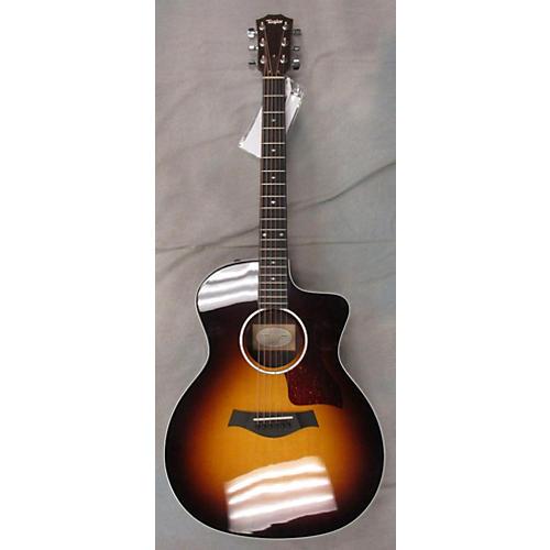 Taylor 214CE-SB DLX Acoustic Electric Guitar-thumbnail