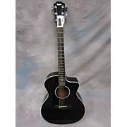 Taylor 214ce BLK DLX Acoustic Electric Guitar