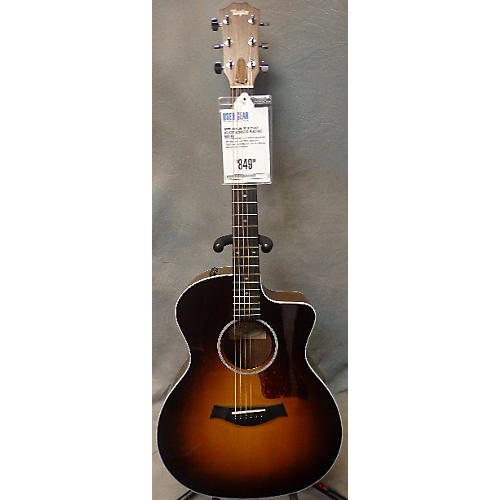 Taylor 214ce Deluxe Acoustic Electric Guitar-thumbnail