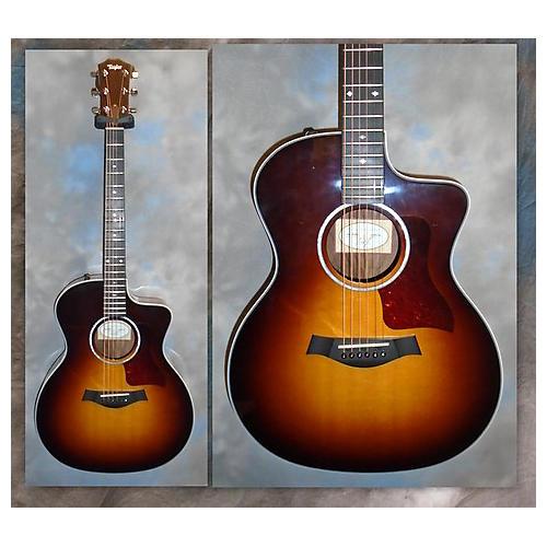 Taylor 214ce Dlx Acoustic Electric Guitar