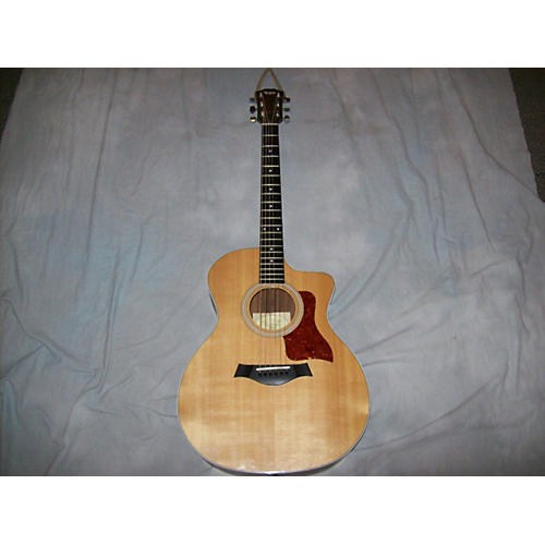 Taylor 214ce Natural Acoustic Electric Guitar