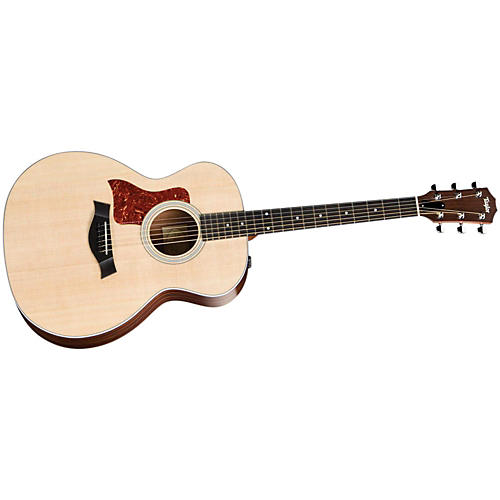 Taylor 214e Left-Handed Grand Auditorium Acoustic-Electric Guitar (2010 Model)