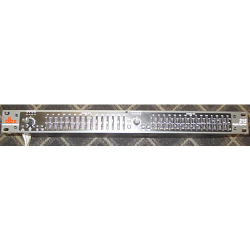 dbx 215 Dual 15-Band Graphic Equalizer-thumbnail