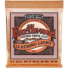 Ernie Ball 2153 Earthwood 12-String Phosphor Bronze Light Acoustic Guitar Strings