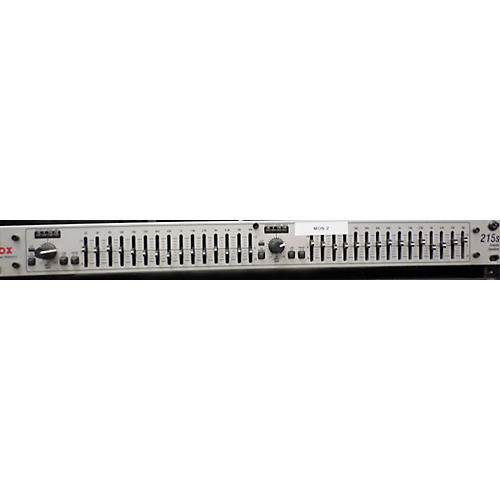 dbx 215S Dual Channel 15-Band Graphic Equalizer-thumbnail