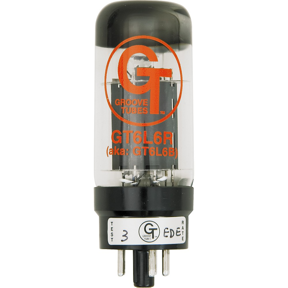 Groove Tubes Gold Series Gt-6L6-R Matched Power Tubes High (8-10 Gt Rating) Quartet