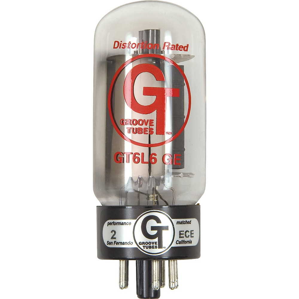 Groove Tubes Gold Series Gt-6L6-Ge Matched Power Tubes High (8-10 Gt Rating) Quartet