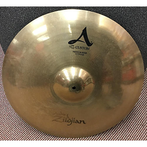 Zildjian 21in A Custom Medium Ride Cymbal