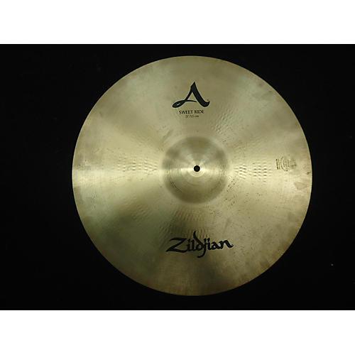 Zildjian 21in A Custom Sweet Ride Cymbal-thumbnail