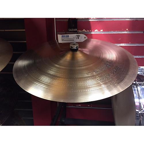 Sabian 21in AA Medium Heavy Ride Cymbal-thumbnail