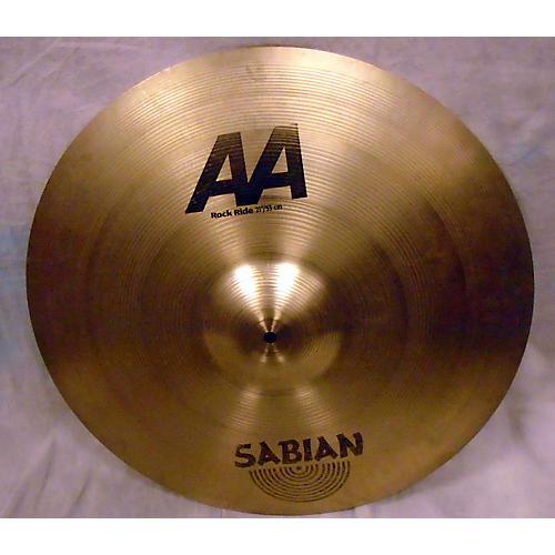 Sabian 21in AA Rock Ride Brilliant Cymbal