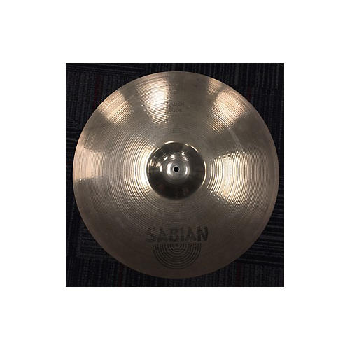 used sabian 21in aa rock ride brilliant cymbal guitar center. Black Bedroom Furniture Sets. Home Design Ideas