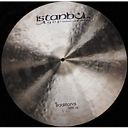 Istanbul Agop 21in Agop Traditional Dark Ride Cymbal