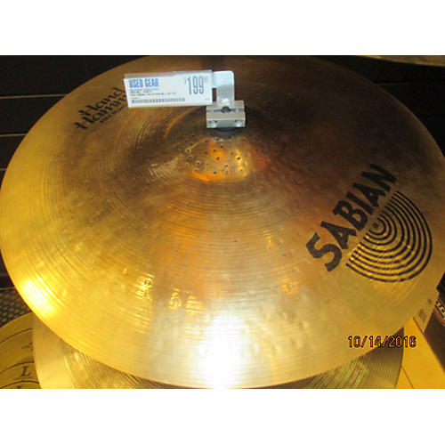 Sabian 21in HH Raw Bell Dry Ride Brilliant Cymbal