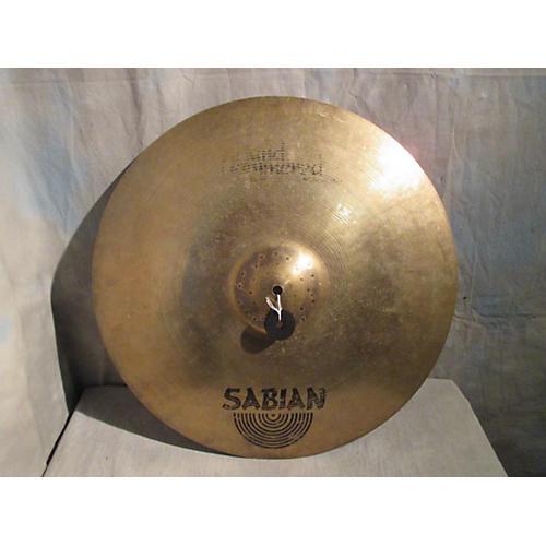 Sabian 21in HH Raw Bell Dry Ride Brilliant Cymbal-thumbnail