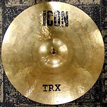 TRX 21in Icon Crash Cymbal
