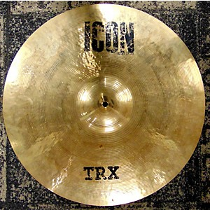 Pre-owned TRX CYMBAL 21 inch Icon Crash Cymbal by TRX CYMBAL