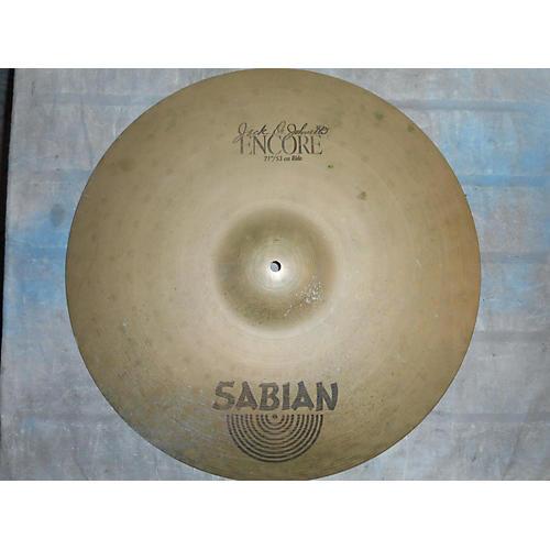Sabian 21in Jack Dejohnette Encore Signature Ride Cymbal