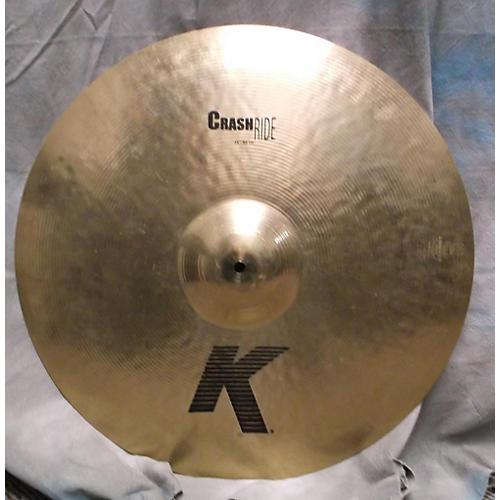 Zildjian 21in K CUSTOM CRASH RIDE Cymbal