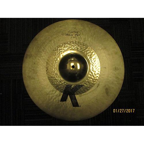 Zildjian 21in K Custom Complex Dark Ride Cymbal