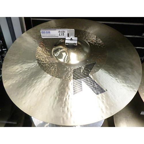 Zildjian 21in K Custom Hybrid Ride Cymbal-thumbnail