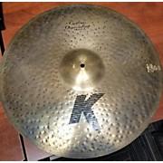 Zildjian 21in K Custom Organic Ride Cymbal