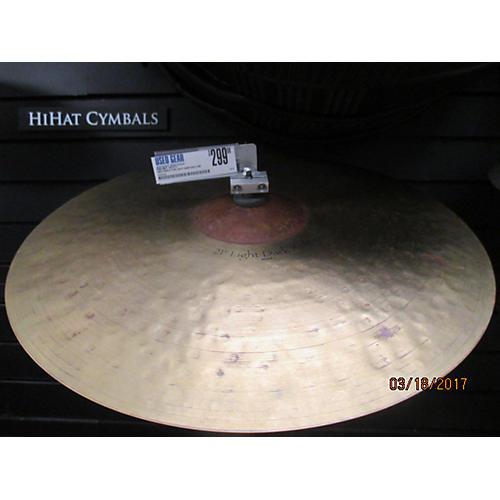 Paiste 21in Light Dark Ride Cymbal