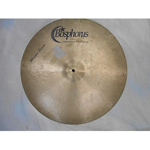 Pre-owned Bosphorus Cymbals 21 inch Master Series Ride Cymbal by Bosphorus Cymbals