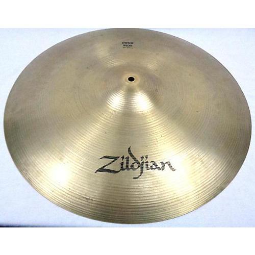 used zildjian 21in rock ride cymbal 41 guitar center. Black Bedroom Furniture Sets. Home Design Ideas
