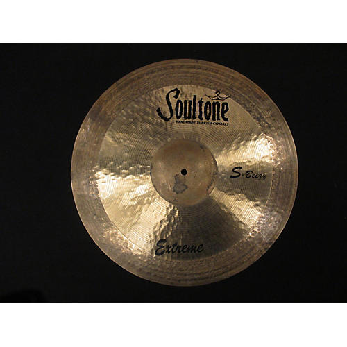 Soultone 21in S-BEEZY EXTREME RIDE Cymbal-thumbnail