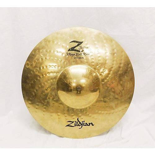 Zildjian 21in Z Custom Mega Bell Ride Cymbal-thumbnail