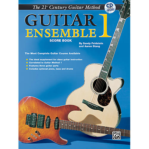 Alfred 21st Century Guitar Ensemble 1 Score Book & CD