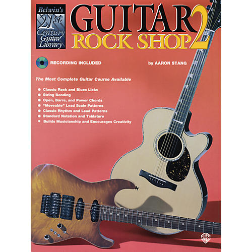 Alfred 21st Century Guitar Rock Shop 2 Book & CD-thumbnail