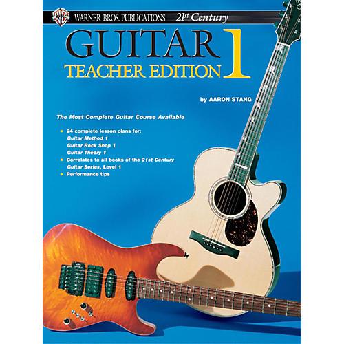 Alfred 21st Century Guitar Teacher Edition 1