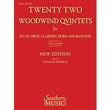 Southern 22 Woodwind Quintets - New Edition (Woodwind Quintet) Southern Music Series Arranged by Albert Andraud