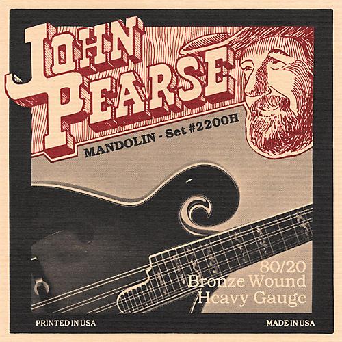 John Pearse 2200H Heavy Gauge Mandolin Strings